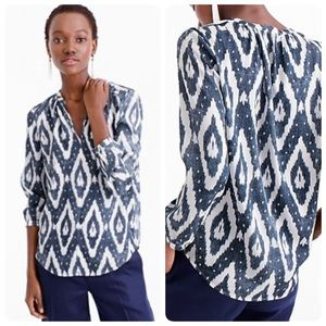 NWOT J. Crew collection silk top❤️